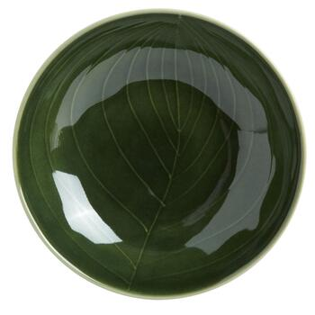 "9"" Palm Leaf Pasta Bowls, Set of 4 view 2"