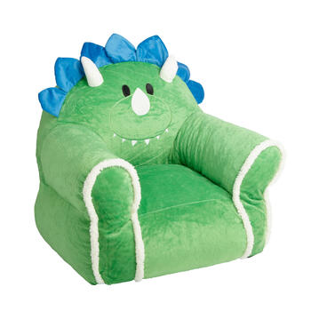Dinosaur Children's Plush Bean Bag Chair view 1