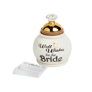 """Well Wishes for the Bride"" Advice Jar"