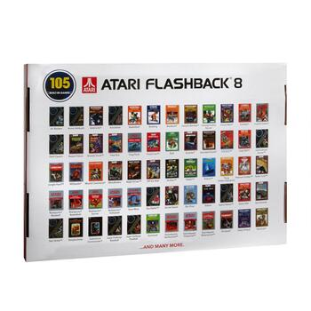 Atari® Flashback® 8 Classic Video Game Console view 2 view 3