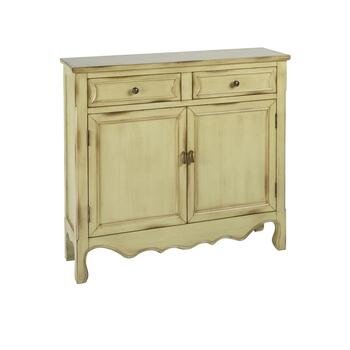 Kingston Antique 2-Door/2-Drawer Storage Chest