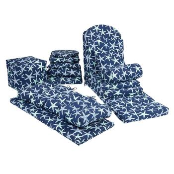 Starfish Indoor/Outdoor Chair Pads Collection