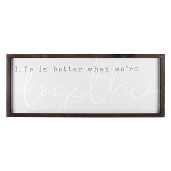 "20""x50"" ""Better When We're Together"" Hanging Decor view 1"