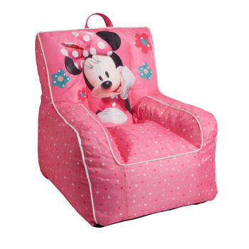 Disney® Minnie Mouse Floral Children's Beanbag Chair