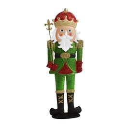 "18"" Metal Nutcracker Decor"