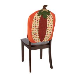 Leafy Pumpkin Chair Covers, Set of 2