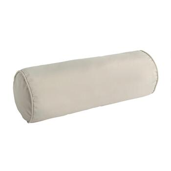 Traditions by Waverly® Solid Beige Indoor/Outdoor Lumbar Roll Pillow