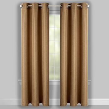 Denver Room Darkening Grommet Window Curtains, Set of 2 view 2