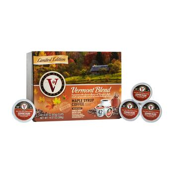 Victor Allen's® Vermont Maple Syrup Blend Medium Roast Coffee Pods, 42-Count