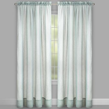 Crushed Voile Window Curtains, Set of 2 view 2