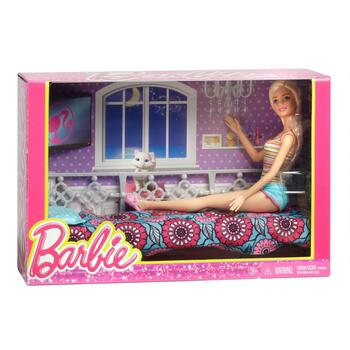Barbie® Doll and Bedroom Set