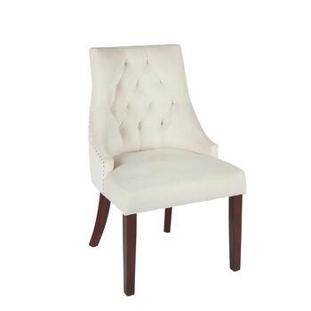 Velvet Tabetha Ring Accent Chairs, Set of 2