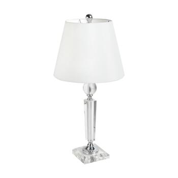 "21.75"" Oblique Crystal Table Lamp"