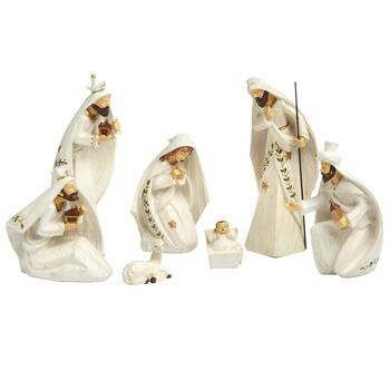 Three Wise Men Nativity Scene, 7-Piece
