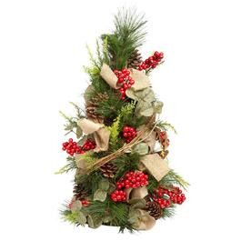 18 pine berry brown burlap tree - Christmas Tree Shop