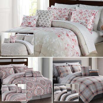 12-Piece Reversible Complete Bed Sets