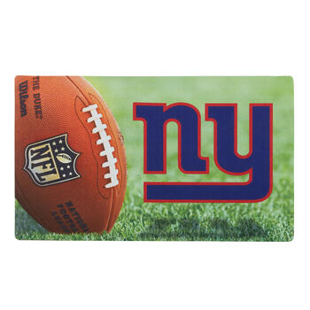 NFL New York Giants High-Definition Rubber Door Mat view 1