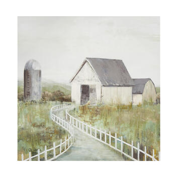 "20"" Painted Barn Canvas Wall Art view 1"