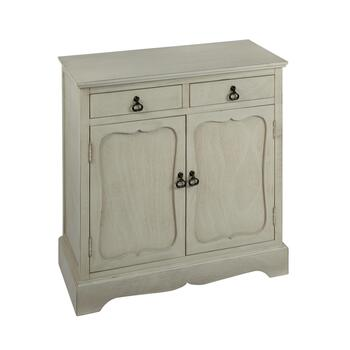 The Grainhouse™ Gray 2-Door/2-Drawer Cabinet