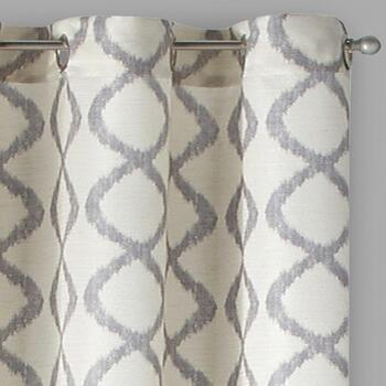 "95"" Wooster Grommet Window Curtains, Set of 2"