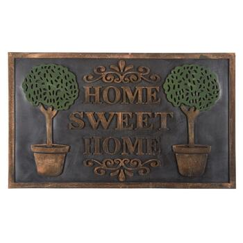 """Home Sweet Home"" Rubber Door Mat"