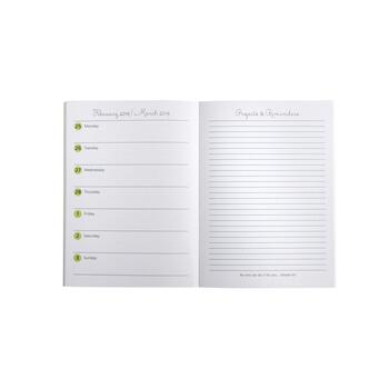 """Every Day is a Fresh Start"" 2019 Smart Planner view 2"