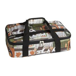 Harvest Home Print Insulated Casserole Carrier