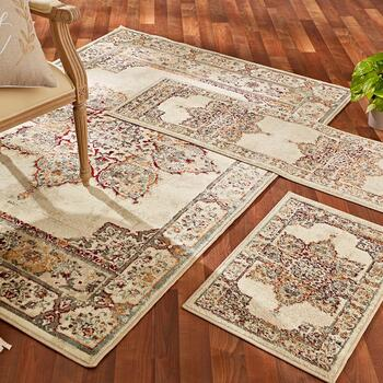 3-Piece Plush Rug Sets