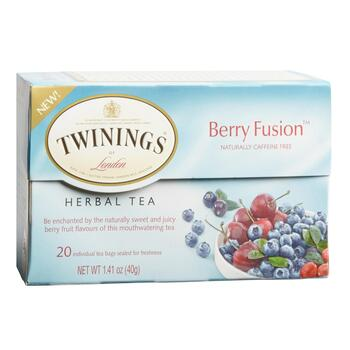 Twinings® Berry Fusion™ Herbal Tea, 6 Boxes
