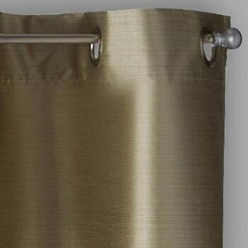Solstice™ Room Darkening Grommet Window Curtains, Set of 2