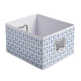 The Grainhouse™ Ditsy Blue Paisley Pet Supplies Storage Bin