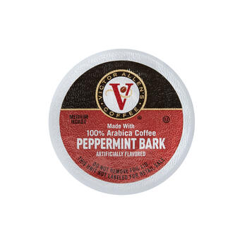 Victor Allen's® Peppermint Bark Coffee Pods, 100-Count view 1