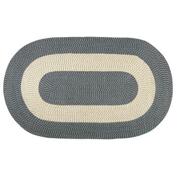 Braided Oval Accent Rug
