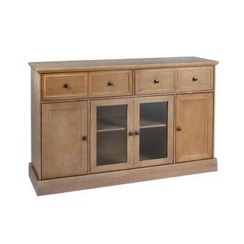 The Grainhouse™ Brown 4-Door Sideboard Cabinet