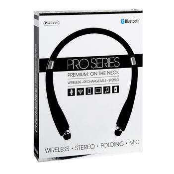 Bluetooth® Pro Series Premium On-the-Neck Rechargeable Headphones view 2