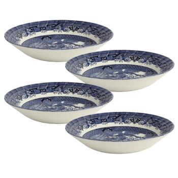 Blue Willow Imperial Decorative Soup Bowls, Set of 4 view 2