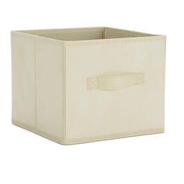 "9"" Medium Linen Folding Storage Cube view 1"