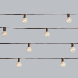 20' Cafe Glass Bulb String Lights