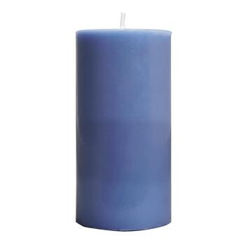 "Embers® Sky Blue-Scented 3"" x 6"" Pillar Candle"
