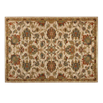 5'x7' Traditional Floral Print Area Rug view 1