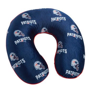 NFL New England Patriots Memory Foam Neck Pillow view 1