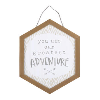 "17""x21"" ""You Are Our Greatest Adventure"" Wood Wall Decor view 1"