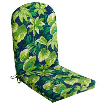 Palm Leaves Indoor/Outdoor Adirondack Chair Pad