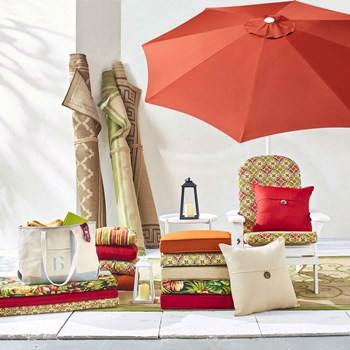 Indoor Outdoor Cushions & Rugs