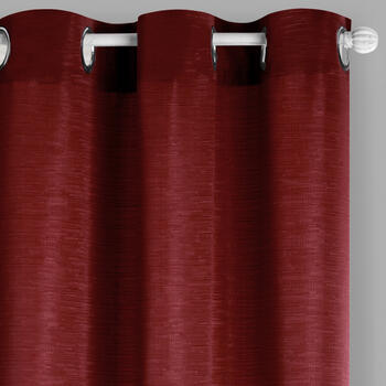 "84"" Solid Color Jacquard Grommet Window Curtains, Set of 2 view 1"