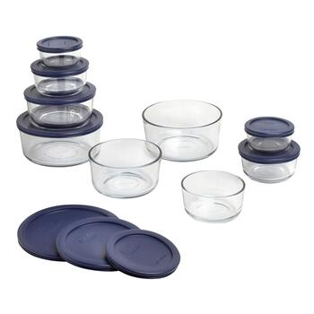 Pyrex® Glass Storage Container Set, 18-Piece