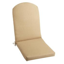 Solid Beige Indoor/Outdoor Adirondack Chair Pad