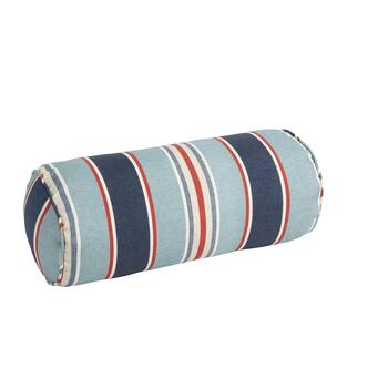 Alfresco™ Blue Striped Indoor/Outdoor Lumbar Pillow