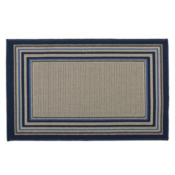 Tributeary Border All-Weather Rug