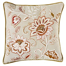"FALL JACOBEAN 18"" WH/OR view 1"